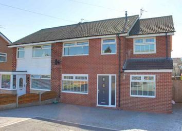 Thumbnail 4 bed semi-detached house for sale in Arlies Close, Stalybridge