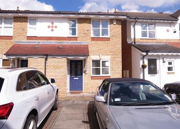 Thumbnail 2 bed semi-detached house to rent in Hadleigh Close, Raynes Park, London