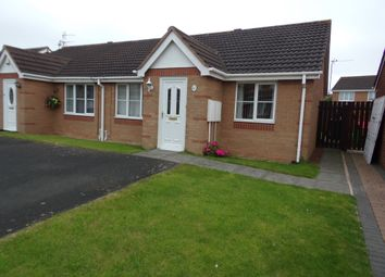 Thumbnail 2 bed bungalow for sale in Lavender Court, Ashington