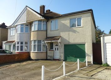 Thumbnail 5 bed semi-detached house for sale in Rochester Avenue, Feltham