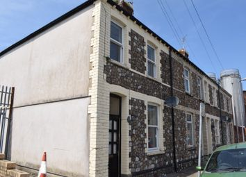 Thumbnail 2 bed end terrace house to rent in Percy Street, Cardiff