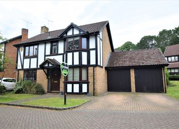 Thumbnail 4 bed detached house to rent in Waggoners Hollow, Bagshot, Surrey