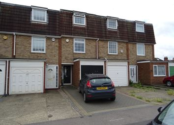 Thumbnail 3 bed town house to rent in Church Road, Romford