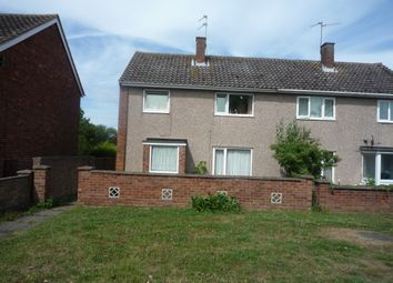 Thumbnail 3 bed semi-detached house for sale in Taunton Avenue, Corby