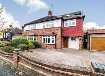 Thumbnail 4 bed semi-detached house for sale in Dickens Rise, Chigwell