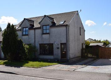 Thumbnail 2 bed semi-detached house for sale in Cameronian Place, Springholm Castle Douglas