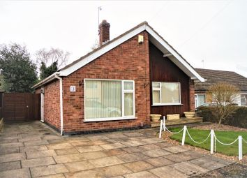 Thumbnail 2 bed detached bungalow for sale in Princes Close, Anstey, Leicester