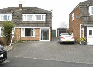 Thumbnail 3 bedroom semi-detached house for sale in Jordan Avenue, Burton On Trent, Staffs