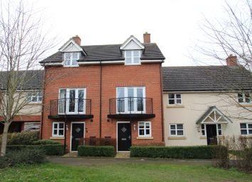 Thumbnail 3 bed town house for sale in Llewellyn Chase, Old Wolverton, Milton Keynes