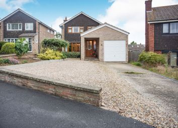 Thumbnail 4 bed detached house for sale in Willcox Drive, Melton Mowbray