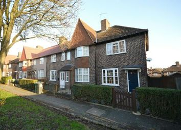Thumbnail 2 bed end terrace house for sale in Manor Farm Drive, London