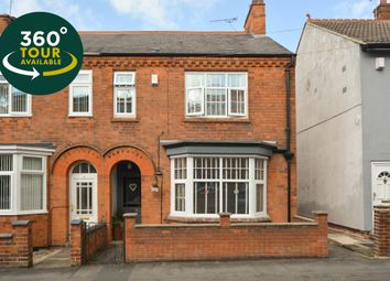 Thumbnail 3 bed semi-detached house for sale in Burgess Street, Wigston, Leicester