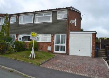 Thumbnail 2 bed semi-detached house for sale in Rownall View, Leek