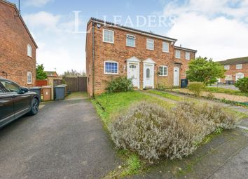 Thumbnail 2 bed semi-detached house to rent in Ardleigh Green, Luton