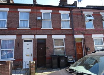 Thumbnail 2 bedroom terraced house to rent in Malvern Road, Luton