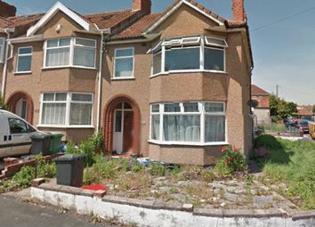 Thumbnail 1 bed semi-detached house to rent in Aylesbury Crescent, Bristol