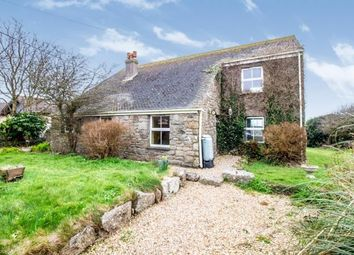 Thumbnail 3 bed detached house for sale in St Just, Cornwall, .