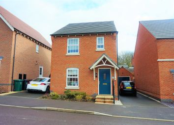 Thumbnail 3 bed detached house for sale in Salford Way, Swadlincote