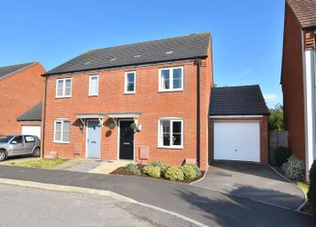 Thumbnail 3 bed semi-detached house for sale in Crocker Way, Wincanton