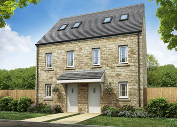 "Thumbnail 3 bed town house for sale in ""The Moseley "" at Knotts Drive, Colne"