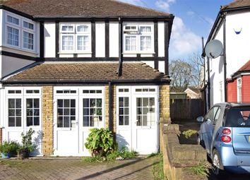Thumbnail 2 bed end terrace house for sale in Felstead Avenue, Ilford, Essex