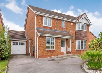 Thumbnail 4 bed detached house for sale in Leyland Road, Tamworth