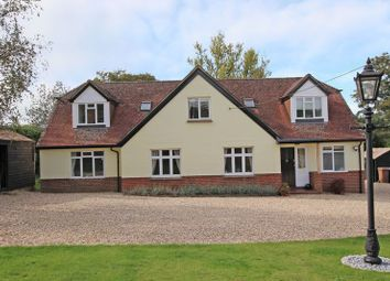 Thumbnail 5 bed detached house for sale in Yokesford Hill, Romsey