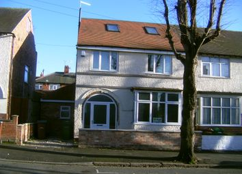 Thumbnail 8 bed semi-detached house to rent in Allington Avenue, Nottingham