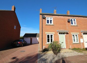 Thumbnail 2 bed end terrace house for sale in Engelhart Close, Brayton, Selby