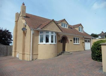 Thumbnail 4 bed detached bungalow to rent in Hillcote, Bleadon Hill, Weston-Super-Mare