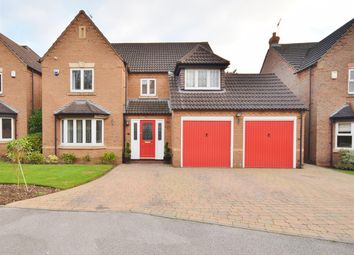 Thumbnail 4 bed detached house for sale in Oak View Rise, Harlow Wood, Nottinghamshire
