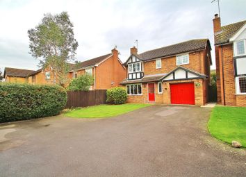 Thumbnail 4 bed detached house for sale in Grange Avenue, Rearsby, Leicestershire