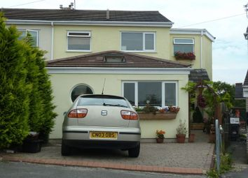 Thumbnail 4 bed semi-detached house to rent in Dale View, Cefn Cribwr, Bridgend