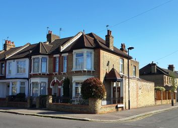 Thumbnail 3 bed end terrace house for sale in Leighton Road, Enfield