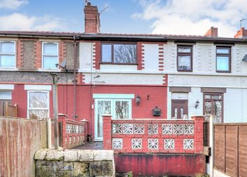 Thumbnail 2 bed terraced house for sale in Caego Terrace, Caego, Wrexham