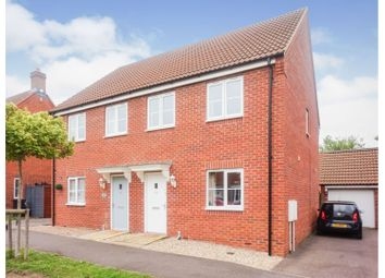 3 bed semi-detached house for sale in Bluebell Walk, Witham St Hughs, Lincoln LN6