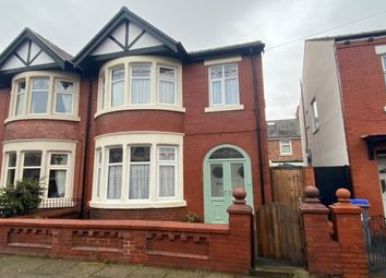 Thumbnail 3 bed semi-detached house to rent in Queensway, Blackpool