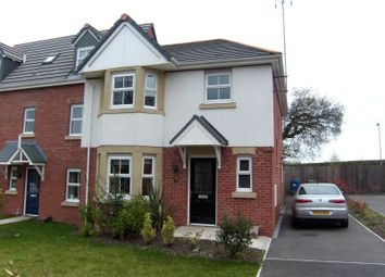 Thumbnail 3 bedroom semi-detached house to rent in Trem Y Llyn, Wrexham