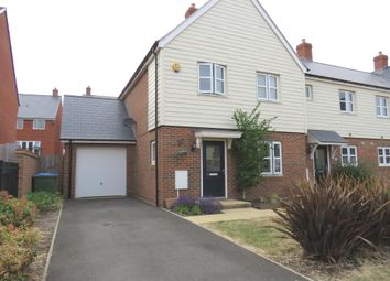 Thumbnail 3 bed end terrace house for sale in Morello Close, Aylesbury