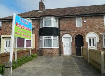 Thumbnail 3 bed terraced house to rent in Cottesbrook Road, Liverpool, Merseyside