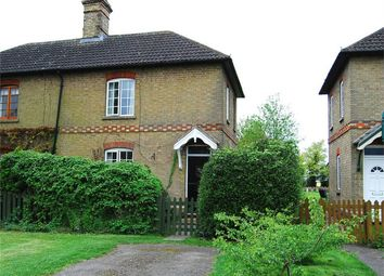 Thumbnail 3 bedroom semi-detached house for sale in The Avenue, Leighton Bromswold, Huntingdon