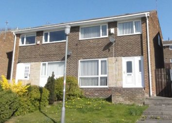 Thumbnail 3 bed semi-detached house to rent in Thornley Close, Broom Park