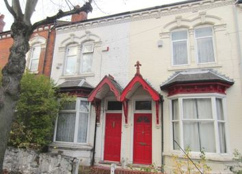 Thumbnail 2 bed terraced house for sale in Mere Road, Erdington, Birmingham