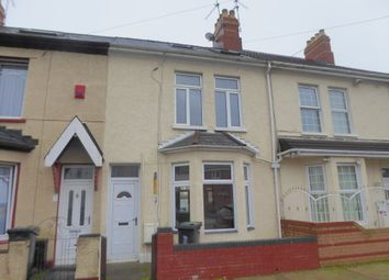 Thumbnail 3 bed terraced house to rent in Handsworth Street, Newport