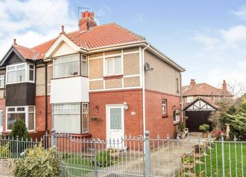 Thumbnail 3 bed semi-detached house for sale in The Avenue, Whitby, North Yorkshire