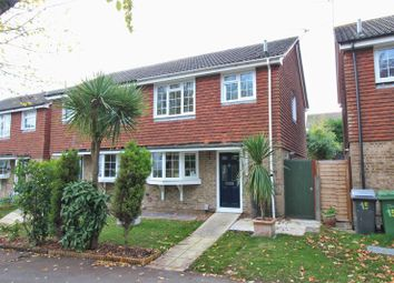 Thumbnail 3 bed semi-detached house for sale in Fern Walk, Calcot, Reading