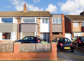Thumbnail 4 bed semi-detached house for sale in Bentinck Road, Stockton-On-Tees
