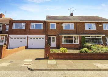 Thumbnail 3 bedroom semi-detached house for sale in West Dene Drive, North Shields, Tyne And Wear