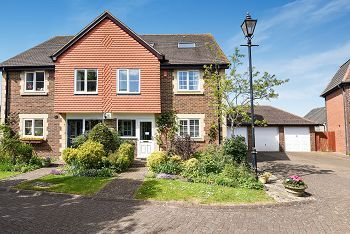 Thumbnail 4 bed semi-detached house for sale in Greenhill Place, Codford, Warminster