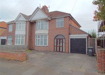 Thumbnail 3 bed semi-detached house for sale in Dumbleton Avenue, Leicester